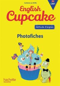 English Cupcake, CM1 : méthode d'anglais, photofiches
