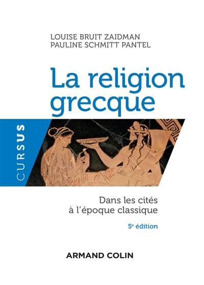 Livre : La religion grecque dans les cités à l'époque
