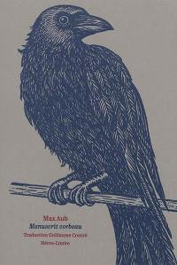 Manuscrit corbeau