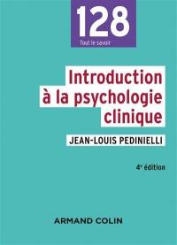 Introduction à la psychologie clinique