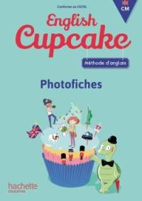 English cupcake CM : méthode d'anglais, photofiches