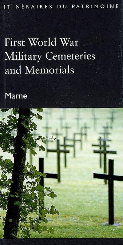 First World War military cemeteries and memorials