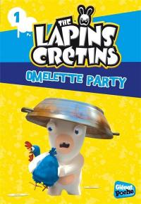 The lapins crétins. Volume 1, Omelette party