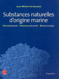 Substances naturelles d'origine marine