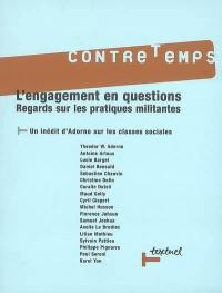 Contretemps. n° 19, L'engagement en questions