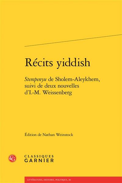 Récits yiddish