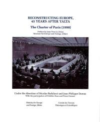 Reconstructing Europe, 45 years after Yalta