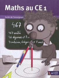 Maths au CE1