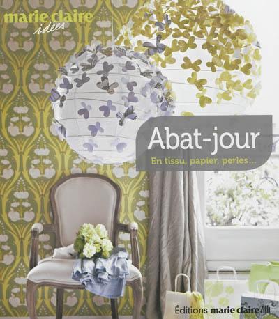 livre abat jour en tissu papier perles editions. Black Bedroom Furniture Sets. Home Design Ideas