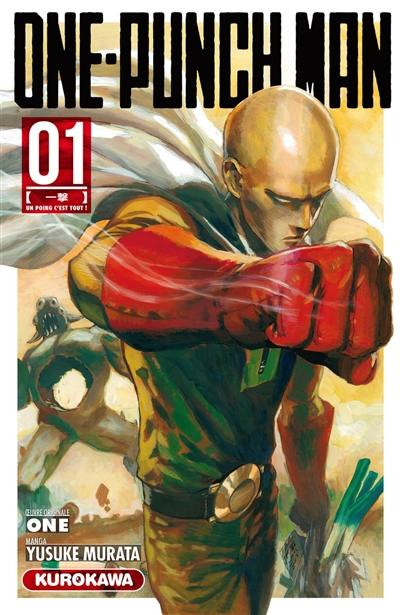 One-punch man. Volume 1, Un poing, c'est tout !