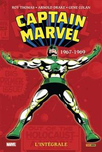 Captain Marvel, 1967-1969