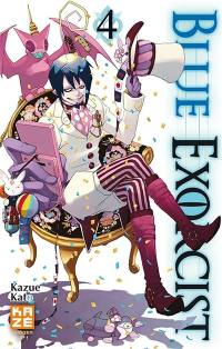 Blue exorcist. Volume 4,
