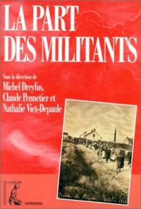 La part des militants