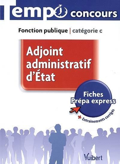 Livre Adjoint Administratif D Etat Fonction Publique Categorie