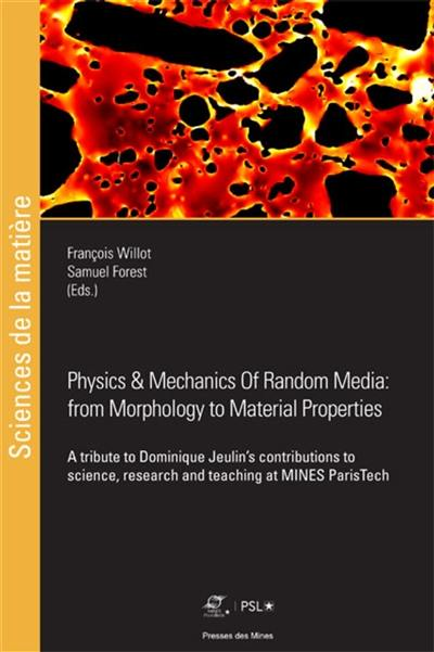 Physics & mechanics of random media, from morphology to material properties