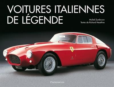 livre : voitures italiennes de légende écrit par michel zumbrunn et