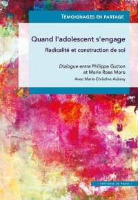Quand l'adolescent s'engage