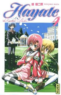 Hayate, the combat butler. Volume 4,