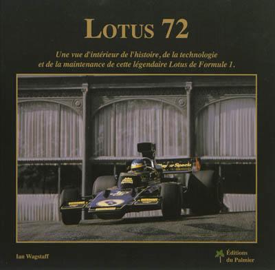 livre lotus 72 crit par ian wagstaff ed du palmier 9782360590322
