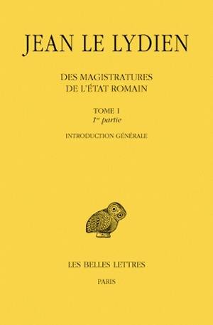 Des magistratures de l'Etat romain. Volume 1,