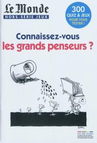 Le grands penseurs en 275 quiz - Arnaud Léonard