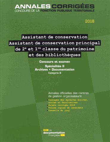 486f73529b5 Livre   Assistant de conservation