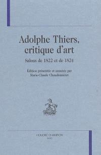 Adolphe Thiers, critique d'art