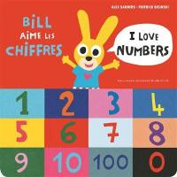 Bill aime les chiffres = I love numbers