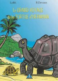 Le grand voyage de la tortue d'Hermann
