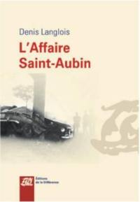 L'affaire Saint-Aubin