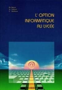 L'option informatique au lycée