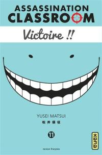 Assassination classroom. Volume 11,