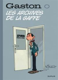 Gaston. Volume 0, Les archives de la gaffe