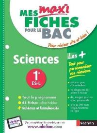 Sciences, 1re ES, L