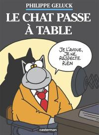 Le Chat. Volume 19, Le Chat passe à table