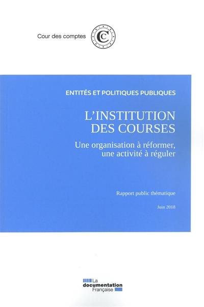 L'institution des courses