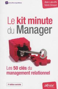 Le kit minute du manager