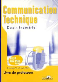 Communication technique, dessin industriel