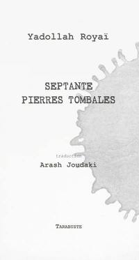 Septante pierres tombales