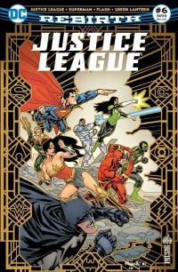Justice league rebirth. n° 6,