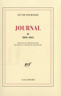 Journal. Volume 2, 1919-1941