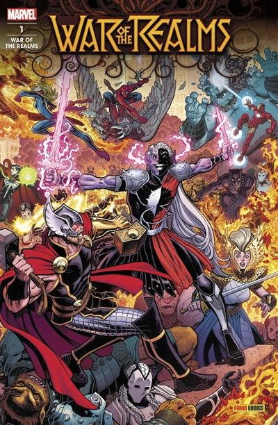War of the realms. n° 1, La guerre des royaumes (1)