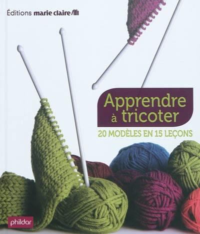 f2d15a3f965 Livre   Apprendre à tricoter écrit par Phildar et Charlotte Rion ...