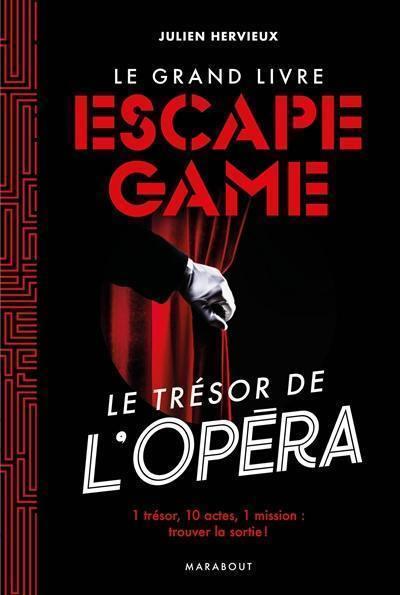 Livre Le Grand Livre Escape Game Ecrit Par Julien Hervieux