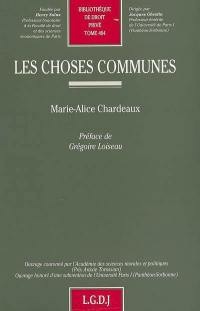 Les choses communes