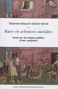 Race et sciences sociales