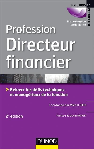 Livre Profession Directeur Financier Dunod
