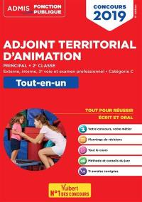 Adjoint territorial d'animation principal, 2e classe