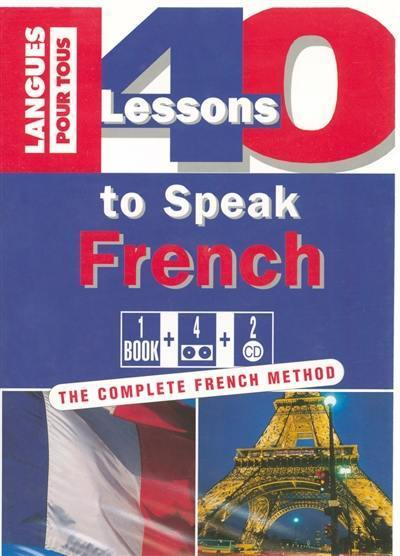 40 lessons to speak French