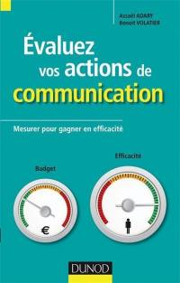 Evaluez vos actions de communication